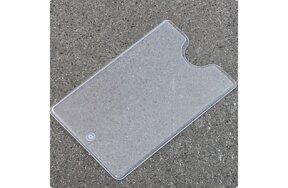 CREDIT CARD HOLDER PVC 59x91mm SET/50